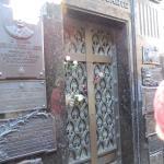 Eva Peron's family mausoleum