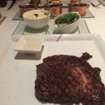 Australian Wagyu Ribeye medium grilled