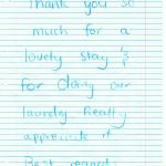 A Thank you note 22Feby