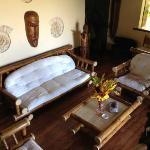 Deluxe Bungalow sitting room