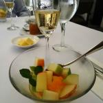 Great Fruit salad with Brunch