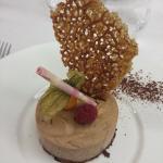 Le croustillant chocolat praliné