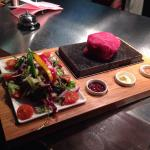fancy a steak on hot stone