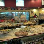 Dentro da padaria