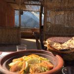 Delicious lunch in Imlil