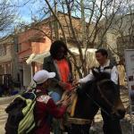 Mule ride!