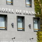 façade végétalisée de l'hôtel de France et d'Europe