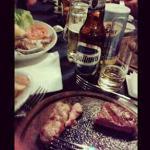 Angus y cerveza