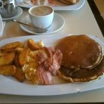 Buen desayuno americano