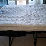 spring mattress springs hurt (old, worn mattress)