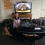 Jet boat kiddy ride