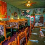 El Sol's small colorful interior