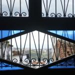 the ground floor windows