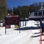 Advanced ski trails
