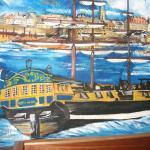 magnifique peinture murale.........
