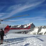 He helped us book a Helicopter Tour of the glaciers and of Milford Sound