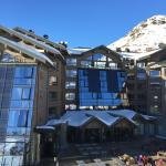 The Altapura from the ski lift!