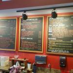 Bean Rush Cafe Menu