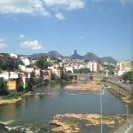 O rio...