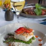 Our signature Halibut dish with lobster risotto
