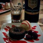 Moëlleux au chocolat et bière brune Carolus