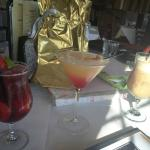 Sangrita (sangria margarita), Hawaiian Martini, Toasted Almond Kiss