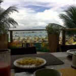 vista desde el área del desayuno