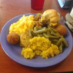 Golden Corral Meal