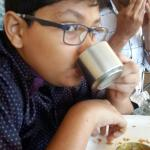 Food was awesome...mishal really enjoyd the dosa