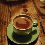 Greek Coffee at Manos Greek Restaurant