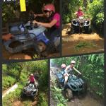 Our amazing adventure through mud, water and paddy field!