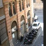 Вид из номера на Corso Vittorio Emanuele II