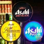 Full range of Asahi Beers on tap