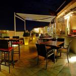 The Skyroom , Restro-bar , Evening view