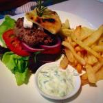 Greek Style Lamb Burger