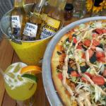 Taco Pizza with appropriate beverages :)