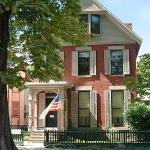 The Anthony Home at 17 Madison Street in Rochester, NY.