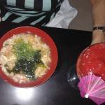 Sopa de langosta y cangrejo / Daikiri de fresa