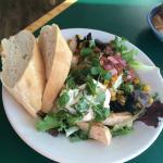 Fiesta Chicken Salad at Grateful Bread