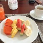 Part one of breakfast - yum!