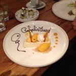 verjaardags dessert