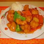 Sweet and Sour Chicken $7.50