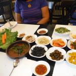 Great Kimchi and sides!
