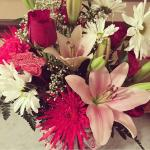 Vday flowers!