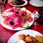 Meat Ham platter