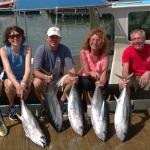 Great day on the water!  Plenty of fish to take home for poke and sashimi.