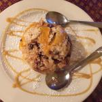 PeachBread Pudding