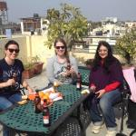 Sharing a Kingfisher on the rooftop. Great for group meetings!