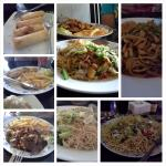 Collection of food pics from previous visits