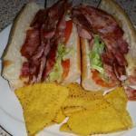 BLT baguette